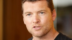 Sam Worthington Sam Worthington poses during Tropfest\'s