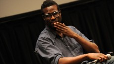 Tunde Adebimpe Tunde Adebimpe of TV On The Radio attends