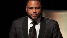 Anthony Anderson Actor Anthony Anderson speaks during the Fourth