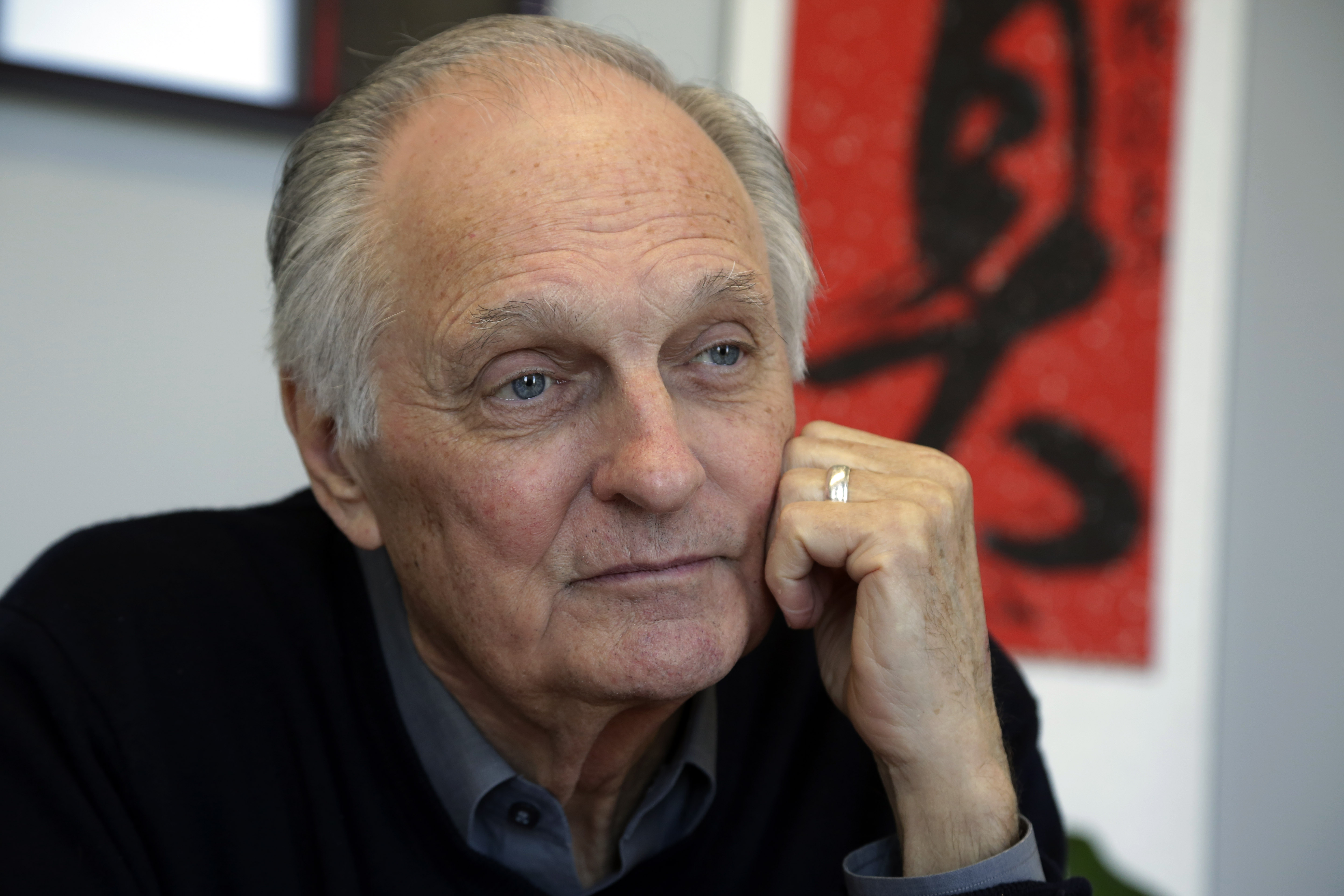 Alan Alda  Celebrity Wallpaper HD Wallpaper