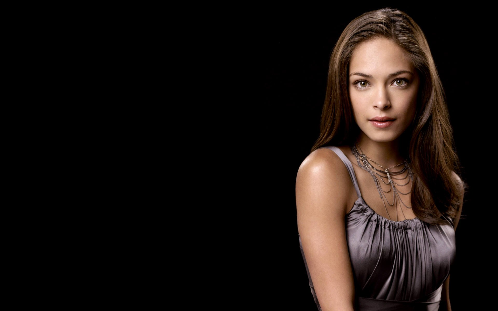 Fresh Kristin Kreuk  Wallpaper HD Wallpaper