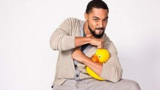 Stand-up comedian Tone Bell plays the Off the Hook Comedy Club on
