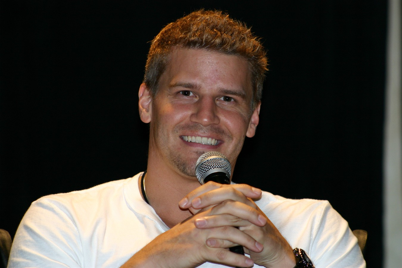 New David Boreanaz HD Wallpaper Wallpaper