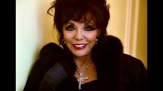 New Hot Dame Joan Collins Actresses Full HD Wallpaper Wallpaper