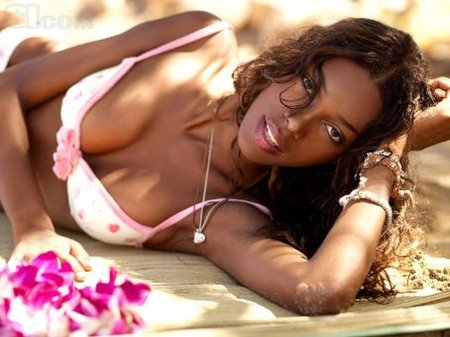 Fresh Annie Ilonzeh hot full hd photo Wallpaper