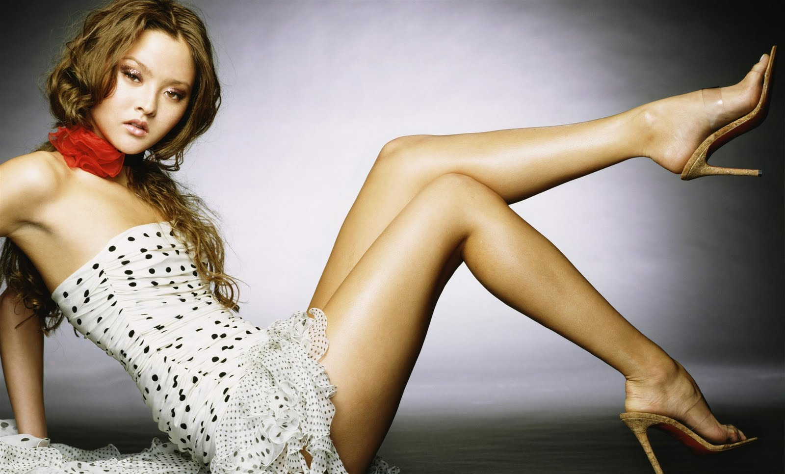 New Hot Devon Aoki Actresses Full HD Wallpaper Wallpaper