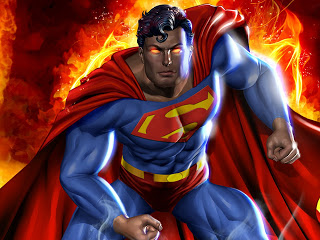 New Superman  Desktop Cartoon Hd Wallpaper Wallpaper