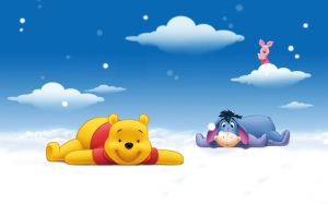 Winnie-the-Pooh Cartoon HD  Wallpaper Wallpaper