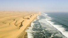 Coastal Desert Sea: a coastal desert area