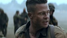 Brad Pitt – Fury (2014) movie hairstyle – StrayHair
