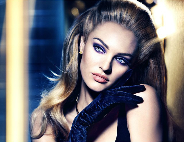 Candice Swanepoel Stuns in Smokey Eyed Look for Max Factor Wallpaper