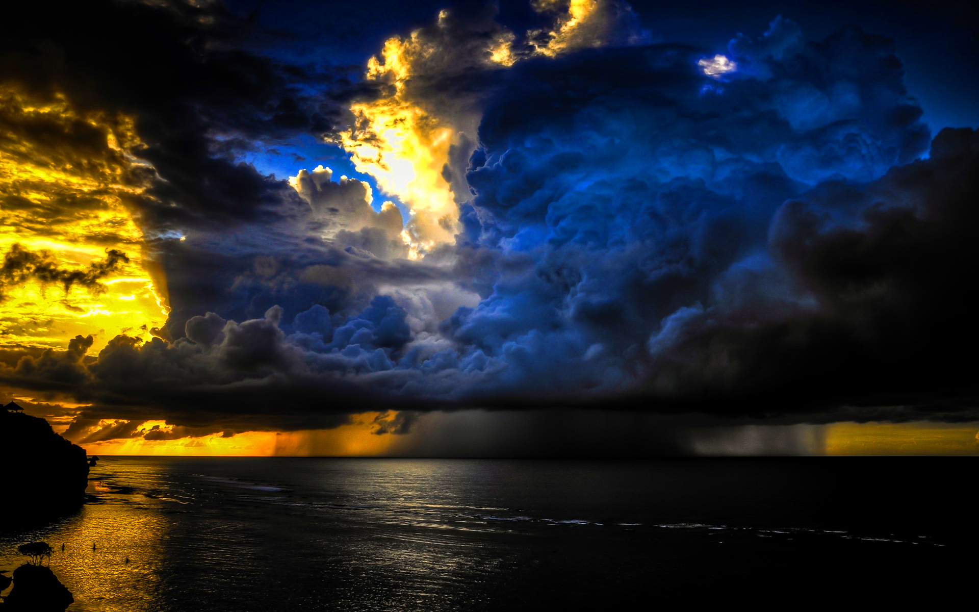 Ocean storm clouds Wallpapers Pictures Photos Images Wallpaper