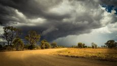Storm Clouds Brewing Queensland Wallpaper